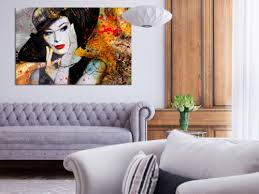 möbel wohnen wandbilder vlies leinwand bild abstrakt