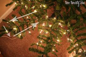 Popular Artificial Silver Tip Christmas Tree by How To Put Lights On A Christmas Tree Two Twenty One