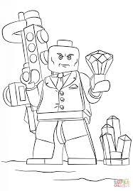 Dibujo De Lex Luthor De Lego Para Colorear Dibujos Para Colorear