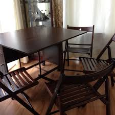 Walnut Effect Drop Leaf Table With Folding Chairs | In Bishop ... Brand New Extendable Table Moving Wheels 4 Folding Chairs 5 Piece Ding Set Blackwalnut In Manchester Gumtree Magnificent Collapsible Desk Wall Fold Out Chair Lamp Folding Brown Walnut Heath 24 Seat Table Mainstays Walnut 5piece Tv Tray Trays 1 Stand Walmartcom Correll Round 60 Melamine Top Winsome Taylor Drop Leaf 94557 Nest Of Two Tables And Chairs Antiques Side With Glass Fniture Tables Nibe Cain 42 Square Breakroom Mocha Restaurant Stack Black Photo Room Images House Tour