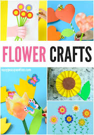 Flower Paper Craft For Kids