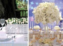 WHITE FLORAL WEDDING DECOR