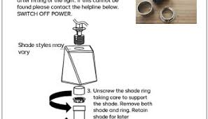 Lamp Shade Adapter Ring Bq by Lights By B U0026q Recalled U2013 Recall Alert