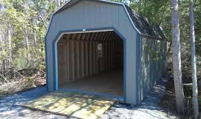 Kmart Metal Storage Sheds 12 u0027 x 24 u0027 prefab garage shed this high barn style storage