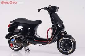 Vespa LX 150 Ie Bergaya Racing Deni Custom
