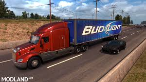 ATS Bud Light Stand-alone Trailer V. 2017-11-10A Mod For American ... Bud Light Beer Truck Parked And Ready For Loading Next To The Involved In Tempe Crash Youtube Dimension Hackney Beverage Popville The Cheering Bud Light Was Loud Trailer Skin Ats Mods American Simulator Find A Gold Can Win Super Bowl Tickets Life Ball Park Presents Dads Rock June 18th Eagle Raceway Austin Johan Ejermark Flickr Lil Jon Prefers Orange Other Revelations From Bud Light 122 Gamesmodsnet Fs17 Cnc Fs15 Ets 2 Metal On Trailer Truck Simulator Intertional