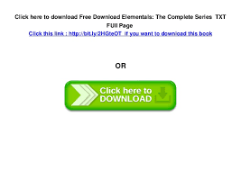 6 Click Here To Download Free Elementals The Complete Series