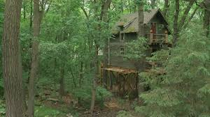 Minnesota Magician Builds Epic Treehouse In Backyard « WCCO   CBS ... Our Work Tree Houses By Dave Modern Treehouse Designed As A Weekender In The Backyard For 9 Completely Free House Plans Funky Video Hgtv Cool Designs We Wish Had In Our Photos Steal This Look A Fort Gardenista Child Within Max Backyard Treehouse Scene Tree Incredible Treehouses You As Kid The Design Dome 25 Ideas Youtube