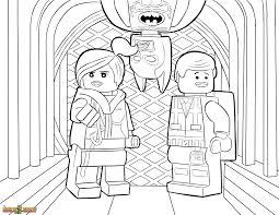 The LEGO Movie Coloring Page Wyldstyle Emmet Batman Printable Color Sheet