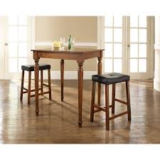 Dining Room Piece Pub Set Table Chairs High Style And Bar ...