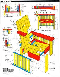 Outdoor Furniture Plans • WoodArchivist