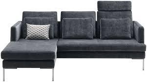 boconcept canape corner sofa contemporary leather fabric istra boconcept