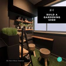 100 Shed Interior Design 4 Build A Gardening Shed Complete Qanvast