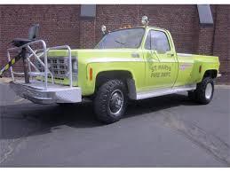 100 Commercial Truck Auction 1977 Chevrolet K30 Fire For Sale ClassicCarscom CC1094228