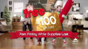 Ashley Furniture Joplin MO FREE $100 Gift Card Black Friday