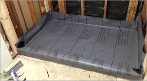 shower pan liners for tile 盪 comfortable how to build a tile