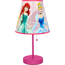 Living Room Lamps Walmart by Disney Princess Table Lamp Pink Walmart Com
