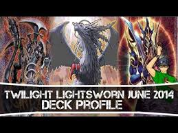Lightsworn Structure Deck Full List by Yugioh Twilight Chaos Lightsworn Deck Profile June 2014 Youtube