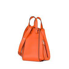 loewe bags hammock small bag orange discover loewe bags products