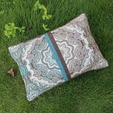 New Retro Patchwork Decorative Cushion Cover Rustic Printed Cotton Linen Throw Pillows Case Pillow Sofa Chair Home Decor