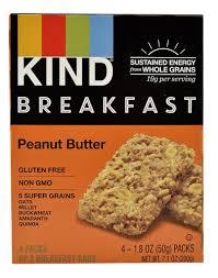 Kind Breakfast Bars Peanut Butter 4 Packs Of 2