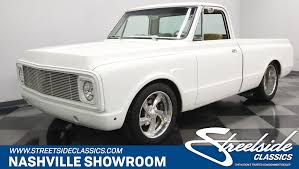 1969 Chevrolet C10 | Streetside Classics - The Nation's Trusted ... 1969 Chevrolet C10 K10 4x4 Stepside Shortbox Post Your 1960 1966 Gmc Chopped Top Pickups The 1947 1971 Chevy Short Box Cheyenne 6772 Pickup Gmc 1972 Inventory My Classic Garage Rtech Fabrications Custom Truck Fabricator Hayden Id 69 Blown Rat Rod Truck Dads Creations And Airbrush Bed For Sale 4438 Dyler Blazer K5 Is Vintage You Need To Buy Right Loud And Long Silverado For In San Jose Ca Khosh Autotrends