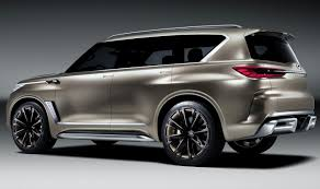 Infiniti QX80 Monograph Concept: Will It Go To Production? 2017 New ... Infiniti Qx80 Reviews Research New Used Models Motor Trend To Infinity And Beyond The Pizza Planet Truck In Real Life Monograph Concept Will It Go Production 2017 2018 Suv Is A Deluxe Dubai Debut Roadshow Trucks Diesel Tohatruck Gearing Up For Families Arundel Journal Tribune Finiti Of Charlotte Luxury Cars Suvs Dealership Servicing 2016 Larte Design Missuro 2019 Qx50 Preview Crossovers Usa
