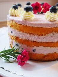 süßes glück in lila heidelbeer joghurt torte fräulein ella
