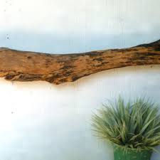 Driftwood Wall Decor Decorative Art Brown From Divinedriftwood On