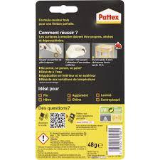pattex pate a reparer repair express bois pattex 48 g de pâte adhésive 1121477