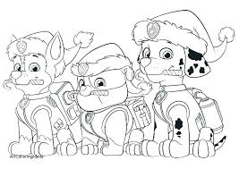 Stunning Paw Patrol Coloring Pages Amazing