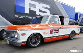100 Pro Touring Trucks The Roadster Shops 70 Chevy C10 Truck On Forgeline RB3C Concave