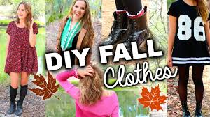 Cute Easy DIY Fall Clothes Inspired By Tumblr