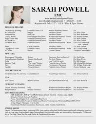 Simple One Page Resume Sample