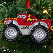 Personalised Christmas Ornament - Monster Truck   Personalised ... Monster Truck Party Ideas At Birthday In A Box Pin By Vianey Zamora On Decoration Truck Pinterest Cake Decorations Simple Cakes Brilliant Jam Given Minimalist Article Little 4pcs Blaze Machines 18 Foil Balloon Favor Supply 2nd Diy Jam Gravedigger Photo 10 Of Table Amazoncom Birthdayexpress Room Cboard Id Mommy Diy