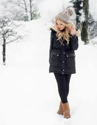 Snow Outfit With Ugg Boots