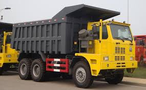 100 Truck Retarder Sinotruk Howo Mining King Dump With Hydraulic 440hp