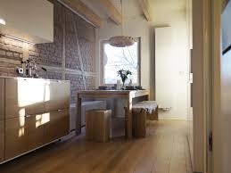 modernisierte küche mit viel holz esstisch ikea p