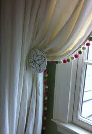 Plum And Bow Blackout Pom Pom Curtains by Pom Pom Trim Curtains Paper Crafts Pinterest Pom Pom Trim