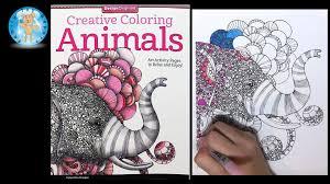 Design Originals Creative Coloring Animals Adult Book Review Elephant