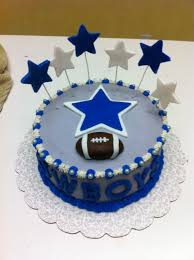 Dallas Cowboys Baby Room Ideas by Cowboys Football Birthday Cakes Gingerly Created Confections