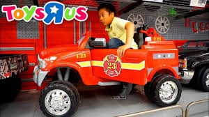 100 Power Wheels Fire Truck ToysRUs Shopping For POWER WHEELS CARS Jaguar Porsche Jeep