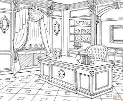 Cabinet In Classic Interior Design