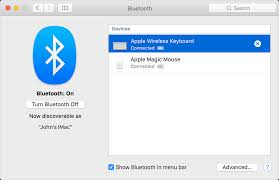 Using a Bluetooth mouse keyboard or trackpad with your Mac