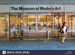 the museum of modern moma new york city usa stock photo