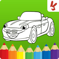 Game Cars Coloring Book For Kids APK Kindle