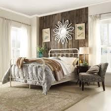 White King Headboard And Footboard by Homesullivan Calabria White Full Bed Frame 40e411bf 1wbed The