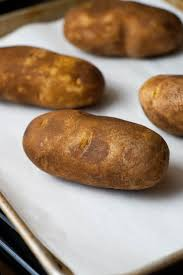 Baked Potatoes Just Like You Get At The Fancy Steakhouses Super Simple And So
