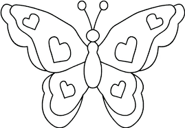 Monarch Butterfly Coloring Page E Swallowtail Free Simple