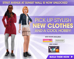 Sims Freeplay Second Floor Mall Quest by Samiemi Games Sims Freeplay Mall Area 5 Strut Avenue